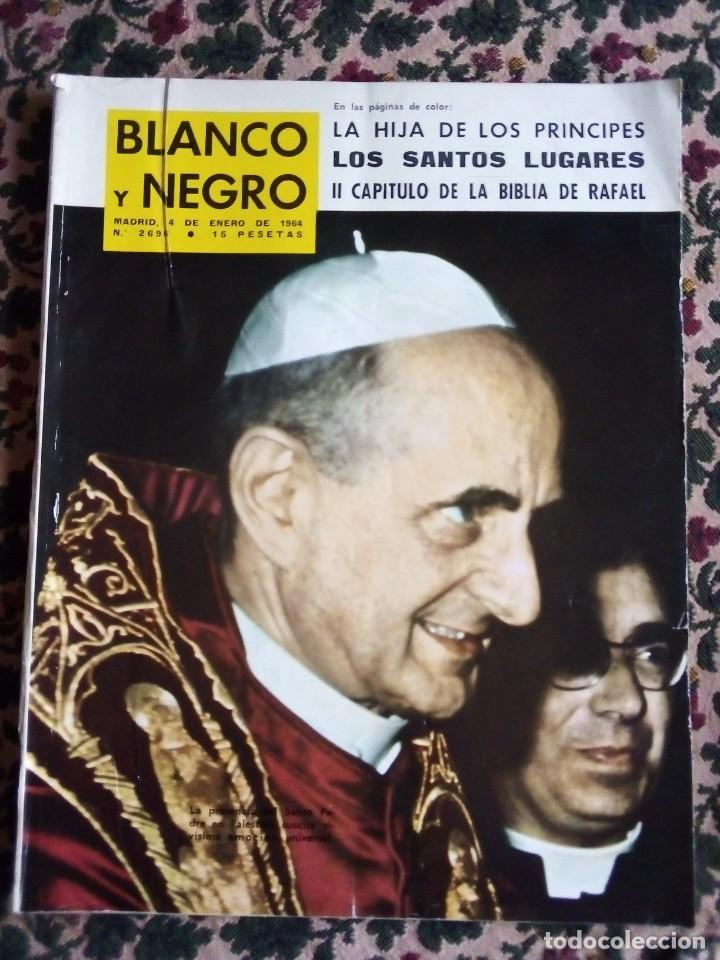 Nº 2696 4 ENERO 1.964 LA BIBLIA DE RAFAEL II CAPITULO Y OTROS TEMAS (Coleccionismo - Revistas y Periódicos Modernos (a partir de 1.940) - Blanco y Negro)