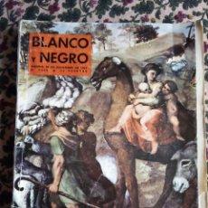 Coleccionismo de Revista Blanco y Negro: Nº 2695 25 DICIEMBRE 1.963: LA BIBLIA DE RAFAEL. Lote 140087006