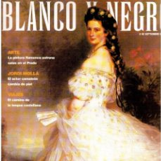 Coleccionismo de Revista Blanco y Negro: 1998. RUTH GABRIEL. CONSUELO. LUCHO GATICA. MIKE OLDFIELD. JORDÍ MOLLÁ. VER SUMARIO.. Lote 140172926