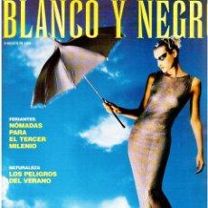 Coleccionismo de Revista Blanco y Negro: 1998. CAPERCAILLIE. BIBIANA FERNÁNDEZ. NATASHA HENSTRIDGE. CHICHÍ PERALTA. MANOLO SANLÚCAR. VER. Lote 140180394