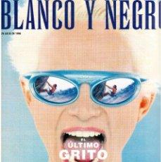 Coleccionismo de Revista Blanco y Negro: 1998. ANA OBREGÓN. MARÍA JOSÉ SUÁREZ. GARY OLDMAN. LAURA HORMIGÓN Y ÓSCAR TORRADO. VER SUMARIO.. Lote 140183094
