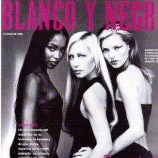 Coleccionismo de Revista Blanco y Negro: 1998. MIRA SORVINO. ROCÍO JURADO. VALERIA MAZA. RADÍO FUTURA. STEVE BUSCEMI. PERROS SANGRE ESPAÑOLA. Lote 140184246
