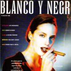 Coleccionismo de Revista Blanco y Negro: 1998. BILLIE MYERS. NEUS ASENSI. JORGE SANZ. LIV TYLER. LA MAFIA SICILIANA. VER SUMARIO.. Lote 140185354