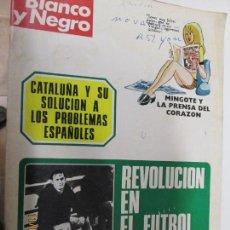 Coleccionismo de Revista Blanco y Negro: BLANCO Y NEGRO REVISTA SEMANAL Nº 3164 23-12-1972. Lote 140309286
