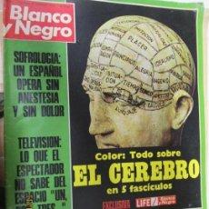 Coleccionismo de Revista Blanco y Negro: BLANCO Y NEGRO REVISTA SEMANAL N 3171 10 DE FEBRERO DE 1973. Lote 140309498