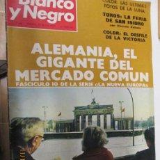 Coleccionismo de Revista Blanco y Negro: BLANCO Y NEGRO REVISTA SEMANAL N 3134 27 DE MAYO DE 1972. Lote 140309942