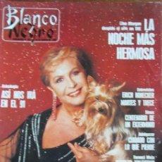 Coleccionismo de Revista Blanco y Negro - RECORTE BLANCO Y NEGRO 1990 LINA MORGAN. PORTADA 6 PGS - 140504346