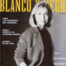 Coleccionismo de Revista Blanco y Negro: 1998. ADRIANA OZORES. IRENE JACOB. ANTONIO CANALES. MIGUEL DE MOLINA. NIÑA PASTORI. CHARLIE WATTS. . Lote 140580754