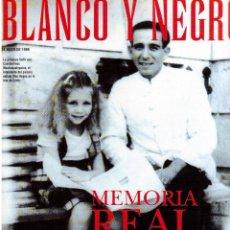 Coleccionismo de Revista Blanco y Negro: 1998. MARÍA CONCHITA ALONSO. FRANK SINATRA (12 PÁGS.). JOSÉ TOMAS. . Lote 140582730