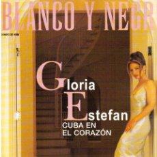 Coleccionismo de Revista Blanco y Negro: 1998. NATALIA ESTRADA. MIGUEL BOSÉ. LUCÍA BOSÉ. PARKER POSEY. ÁNGEL NIETO PADRE E HIJO. VER SUMARIO.. Lote 140588954