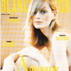 Coleccionismo de Revista Blanco y Negro: 1998. SPHIE MARCEAU. EULALIA RAMÓN. JUAN PEÑA - EL LEBRIJANO -. SARA BARAS. FEDERICO LUPPI. VER.. Lote 140607282