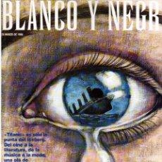 Coleccionismo de Revista Blanco y Negro: 1998. DEEP FOREST. BURNING. MORGAN FREEMAN. AQUA. TAMARA ROJO. MADONNA. ALEJANDRO SANZ. VER.. Lote 140613118