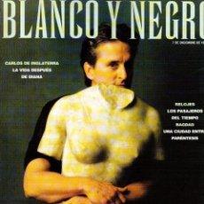 Coleccionismo de Revista Blanco y Negro: 1997. NAJWA HIMRI. JAMES TAYLOR. MÓNICA NARANJO. MIQUEL BARCELÓ. VER SUMARIO.. Lote 140661938