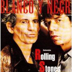 Coleccionismo de Revista Blanco y Negro: 1997. ROLLING STONES. AITANA SÁNCHEZ-GIJÓN. MONTESOL. HANNA SCHYGULLA. JOSÉ MENESE. VER SUMARIO.. Lote 140903998