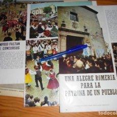 Collectionnisme de Magazine Blanco y Negro: RECORTE PRENSA : ROMERIA DE LA VIRGEN DE LAS VIÑAS EN TOMELLOSO. BLANCO NEGRO, MAYO, 1969. Lote 140977782
