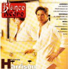 Coleccionismo de Revista Blanco y Negro: 1997. HARRISON FORD. ALEJANDRO SANZ. CURRO (NAVAJITA PLATEÁ). LOLA BALDRICH. VER SUMARIO.. Lote 141245354