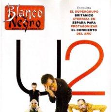 Coleccionismo de Revista Blanco y Negro: 1997. U2. ANA OBREGÓN. MADONNA. ISABEL ORDAZ. PELÉ (NAVAJITA PLATEÁ). VER SUMARIO.. Lote 141247066