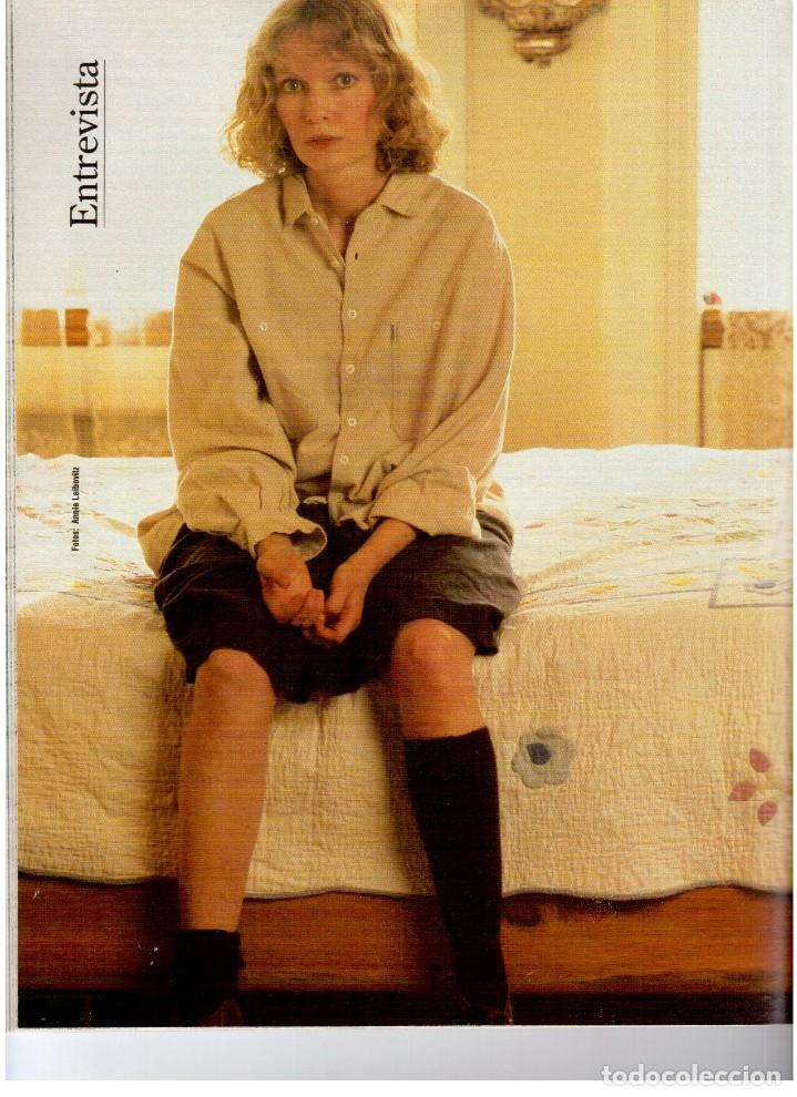 Coleccionismo de Revista Blanco y Negro: 1993. ANA GARCÍA OBREGÓN. BEATRIZ SANTANA. BEATRIZ RICO. MIA FARROW. LA DANZA DEL VIENTRE. VER. - Foto 5 - 141439826