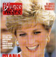 Coleccionismo de Revista Blanco y Negro: 1993. DIANA DE GALES. YVONNE REYES. ROCÍO JURADO. MARINA DANKO. VER SUMARIO.. Lote 141440250