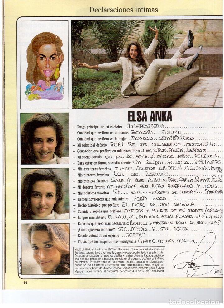 Coleccionismo de Revista Blanco y Negro: 1993. JUDIT MASCÓ. ELSA ANKA. BLANCA SUELVES. RUBI. VER SUMARIO. - Foto 4 - 141460078