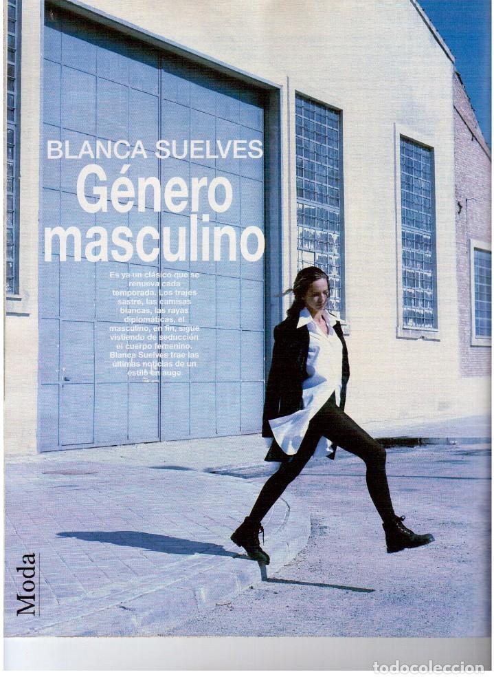 Coleccionismo de Revista Blanco y Negro: 1993. JUDIT MASCÓ. ELSA ANKA. BLANCA SUELVES. RUBI. VER SUMARIO. - Foto 5 - 141460078