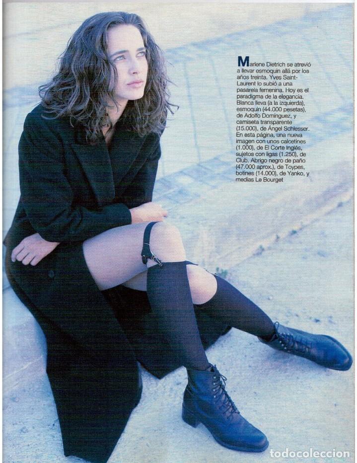 Coleccionismo de Revista Blanco y Negro: 1993. JUDIT MASCÓ. ELSA ANKA. BLANCA SUELVES. RUBI. VER SUMARIO. - Foto 8 - 141460078