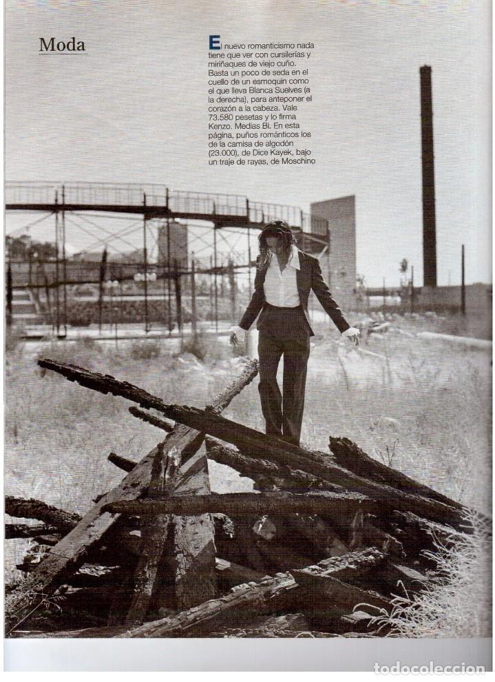 Coleccionismo de Revista Blanco y Negro: 1993. JUDIT MASCÓ. ELSA ANKA. BLANCA SUELVES. RUBI. VER SUMARIO. - Foto 9 - 141460078