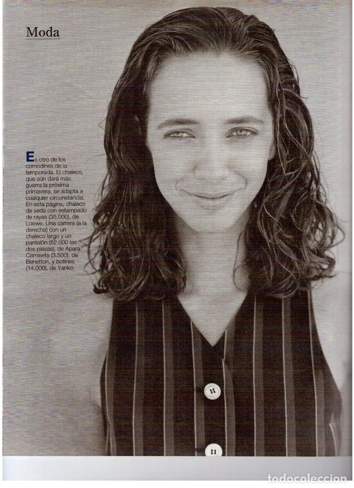 Coleccionismo de Revista Blanco y Negro: 1993. JUDIT MASCÓ. ELSA ANKA. BLANCA SUELVES. RUBI. VER SUMARIO. - Foto 11 - 141460078