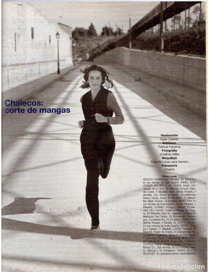 Coleccionismo de Revista Blanco y Negro: 1993. JUDIT MASCÓ. ELSA ANKA. BLANCA SUELVES. RUBI. VER SUMARIO. - Foto 12 - 141460078