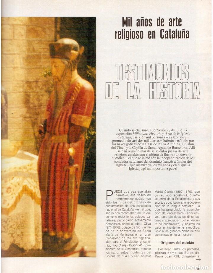 Coleccionismo de Revista Blanco y Negro: 1989. MECANO. ALEJANDRA GREPI. EVA PEDRAZA. LOLA DE PÁRAMO. LOLA FORNER. BEATRIZ SANTANA. VER. - Foto 6 - 141564206