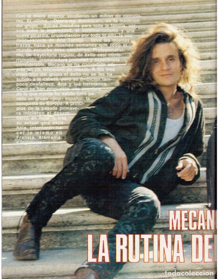 Coleccionismo de Revista Blanco y Negro: 1989. MECANO. ALEJANDRA GREPI. EVA PEDRAZA. LOLA DE PÁRAMO. LOLA FORNER. BEATRIZ SANTANA. VER. - Foto 7 - 141564206