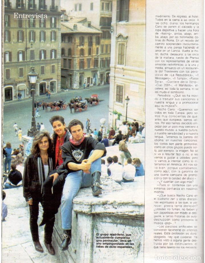 Coleccionismo de Revista Blanco y Negro: 1989. MECANO. ALEJANDRA GREPI. EVA PEDRAZA. LOLA DE PÁRAMO. LOLA FORNER. BEATRIZ SANTANA. VER. - Foto 10 - 141564206