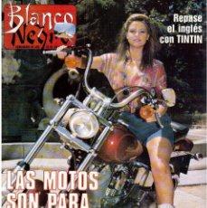Coleccionismo de Revista Blanco y Negro: 1989. LORETO VALVERDE. BEATRIZ SANTANA. OBJETIVO BIRMANIA. ANA OBREGÓN. MIGUEL BOSÉ. LYDIA BOSCH.. Lote 141565706