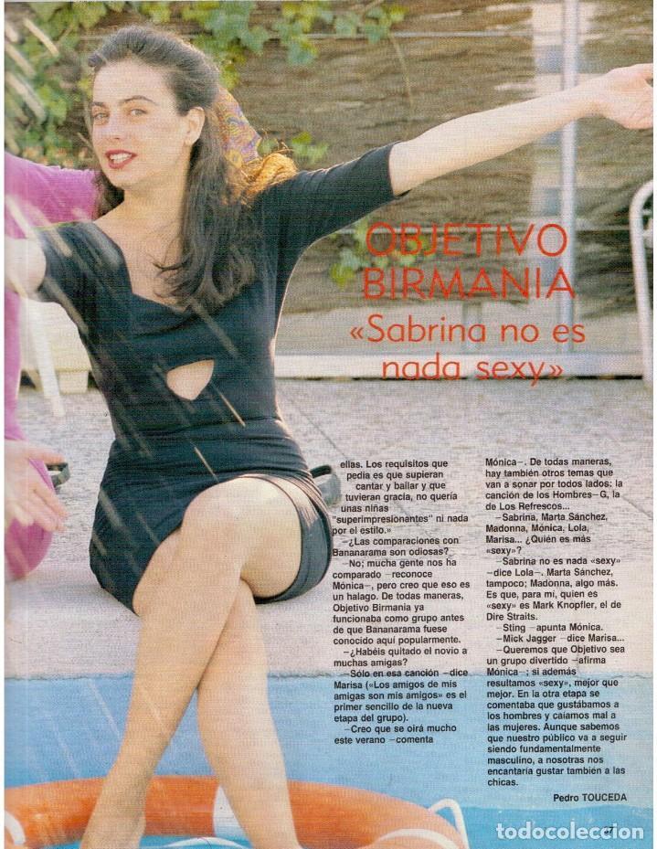 Coleccionismo de Revista Blanco y Negro: 1989. LORETO VALVERDE. BEATRIZ SANTANA. OBJETIVO BIRMANIA. ANA OBREGÓN. MIGUEL BOSÉ. LYDIA BOSCH. - Foto 7 - 141565706
