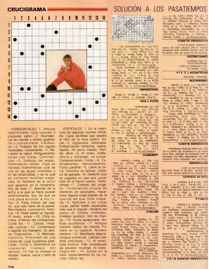 Coleccionismo de Revista Blanco y Negro: 1989. LORETO VALVERDE. BEATRIZ SANTANA. OBJETIVO BIRMANIA. ANA OBREGÓN. MIGUEL BOSÉ. LYDIA BOSCH. - Foto 10 - 141565706