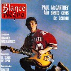 Coleccionismo de Revista Blanco y Negro: 1990. PAUL MCCARTNEY. MIRIAM DÍAZ-AROCA. CARMEN MOLINA Y RICARDO FRANCO. POLICARPIO DÍAZ. VER. Lote 142305702