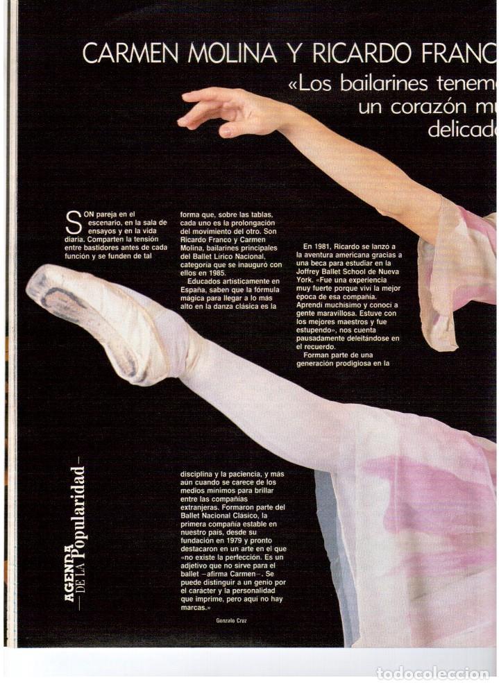 Coleccionismo de Revista Blanco y Negro: 1990. PAUL MCCARTNEY. MIRIAM DÍAZ-AROCA. CARMEN MOLINA Y RICARDO FRANCO. POLICARPIO DÍAZ. VER - Foto 5 - 142305702