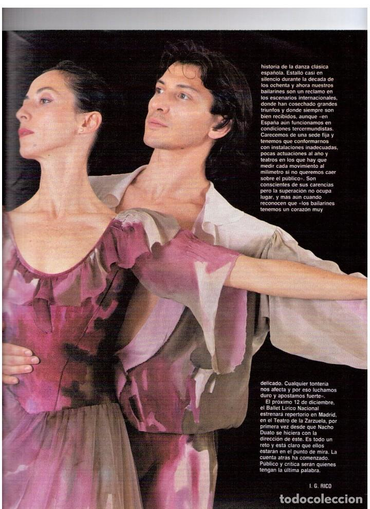 Coleccionismo de Revista Blanco y Negro: 1990. PAUL MCCARTNEY. MIRIAM DÍAZ-AROCA. CARMEN MOLINA Y RICARDO FRANCO. POLICARPIO DÍAZ. VER - Foto 6 - 142305702