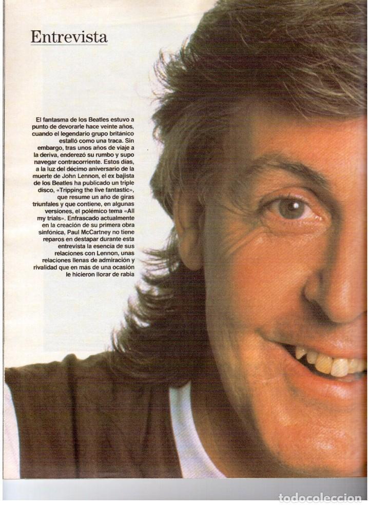 Coleccionismo de Revista Blanco y Negro: 1990. PAUL MCCARTNEY. MIRIAM DÍAZ-AROCA. CARMEN MOLINA Y RICARDO FRANCO. POLICARPIO DÍAZ. VER - Foto 10 - 142305702