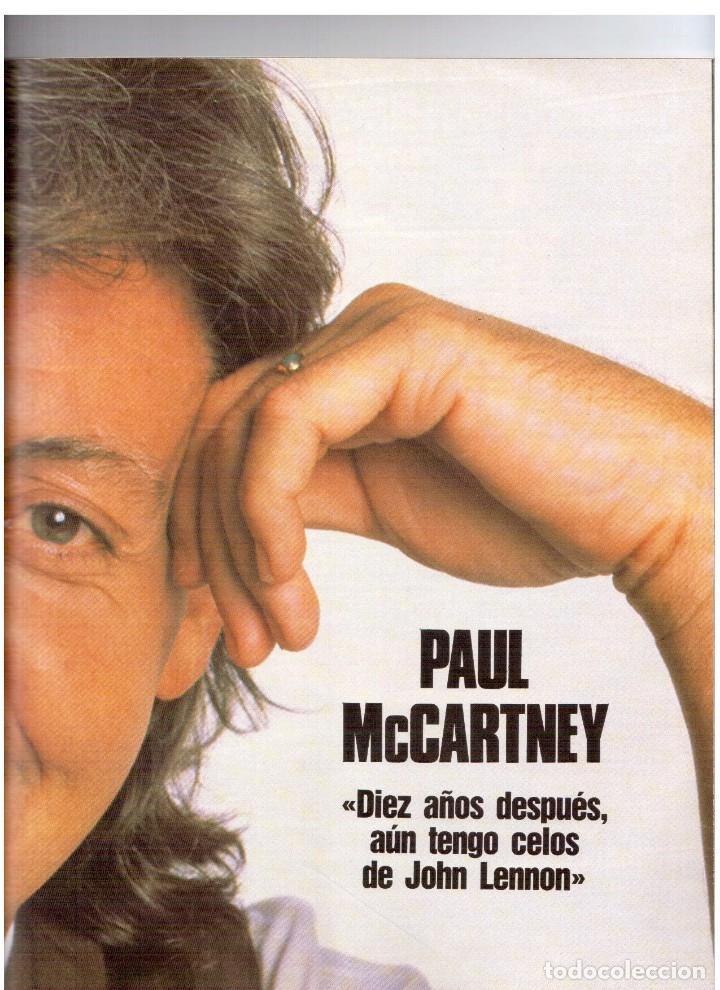 Coleccionismo de Revista Blanco y Negro: 1990. PAUL MCCARTNEY. MIRIAM DÍAZ-AROCA. CARMEN MOLINA Y RICARDO FRANCO. POLICARPIO DÍAZ. VER - Foto 11 - 142305702