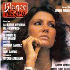 Coleccionismo de Revista Blanco y Negro: 1990. BERNARDO BONEZZI. INXS. EMMA OZORES. CARMEN ORDOÑEZ VS ISABEL PANTOJA. CHUMY CHÚMEZ. VER.. Lote 142310090
