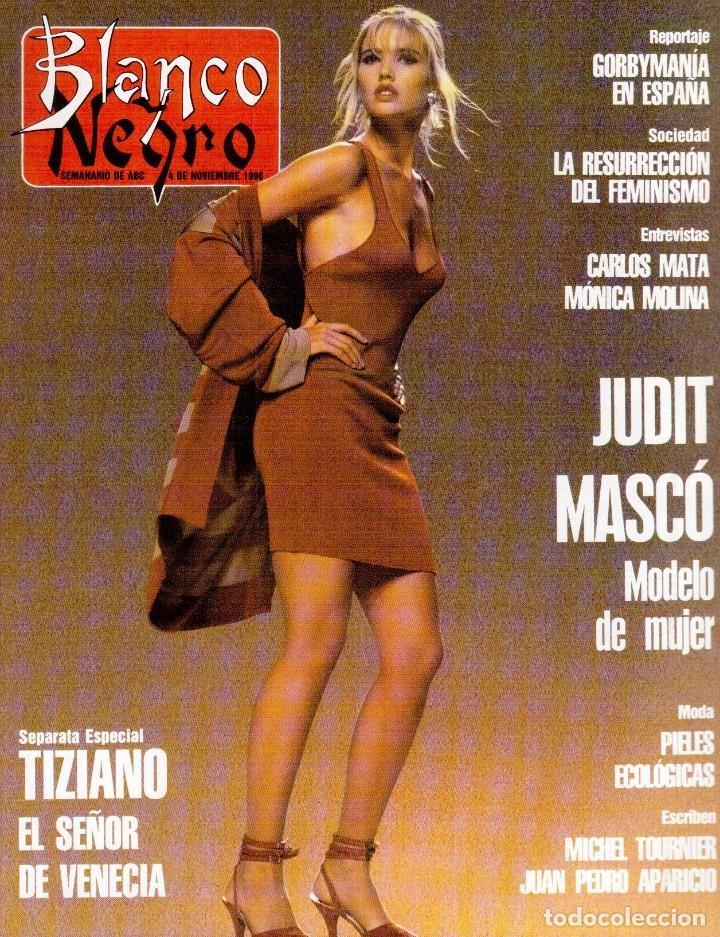 1990. JUDIT MASCÓ. PACO DE LUCÍA. MÓNICA MOLINA. LAURA VALENZUELA. ROSA BERNAL. VER SUMARIO. (Coleccionismo - Revistas y Periódicos Modernos (a partir de 1.940) - Blanco y Negro)