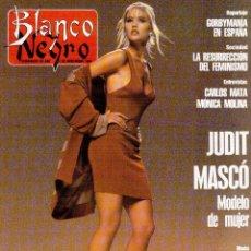 Coleccionismo de Revista Blanco y Negro: 1990. JUDIT MASCÓ. PACO DE LUCÍA. MÓNICA MOLINA. LAURA VALENZUELA. ROSA BERNAL. VER SUMARIO.. Lote 142507658