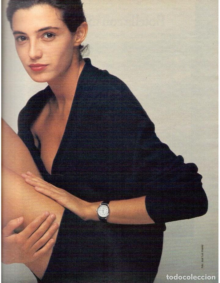 Coleccionismo de Revista Blanco y Negro: 1990. JUDIT MASCÓ. PACO DE LUCÍA. MÓNICA MOLINA. LAURA VALENZUELA. ROSA BERNAL. VER SUMARIO. - Foto 3 - 142507658