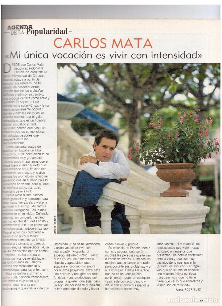 Coleccionismo de Revista Blanco y Negro: 1990. JUDIT MASCÓ. PACO DE LUCÍA. MÓNICA MOLINA. LAURA VALENZUELA. ROSA BERNAL. VER SUMARIO. - Foto 4 - 142507658