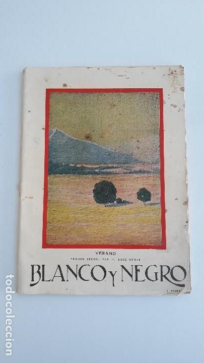 REVISTA ILUSTRADA BLANCO Y NEGRO, NUMERO 1886, 10 JULIO 1927. W (Coleccionismo - Revistas y Periódicos Modernos (a partir de 1.940) - Blanco y Negro)