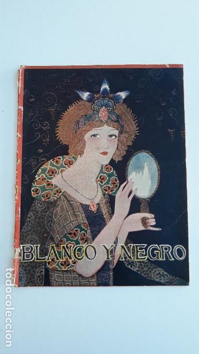 REVISTA ILUSTRADA BLANCO Y NEGRO, NUMERO 1691, 14 OCTUBRE 1923. W (Coleccionismo - Revistas y Periódicos Modernos (a partir de 1.940) - Blanco y Negro)
