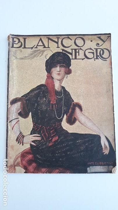 REVISTA ILUSTRADA BLANCO Y NEGRO, NUMERO 1613, 16 ABRIL 1922. W (Coleccionismo - Revistas y Periódicos Modernos (a partir de 1.940) - Blanco y Negro)