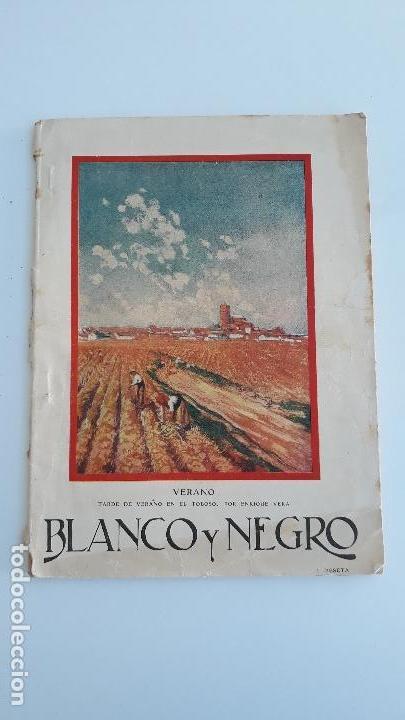 REVISTA ILUSTRADA BLANCO Y NEGRO, NUMERO 1887, 17 JULIO 1927. W (Coleccionismo - Revistas y Periódicos Modernos (a partir de 1.940) - Blanco y Negro)
