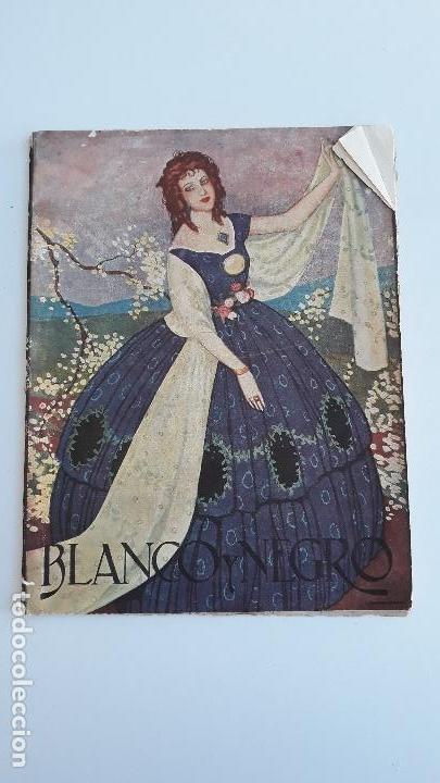 REVISTA ILUSTRADA BLANCO Y NEGRO, NUMERO 1636, 24 SEPTIEMBRE 1922. W (Coleccionismo - Revistas y Periódicos Modernos (a partir de 1.940) - Blanco y Negro)